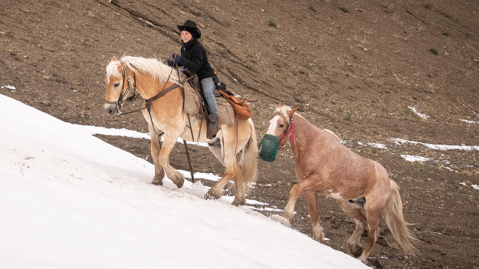 Snow Ride Chilcotin Mountains