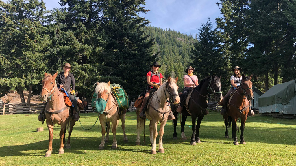 Chilcotin Holidays Pack Trip