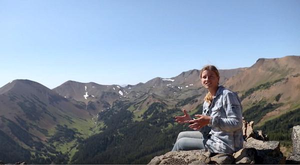 Lisas Mountain Goat Study