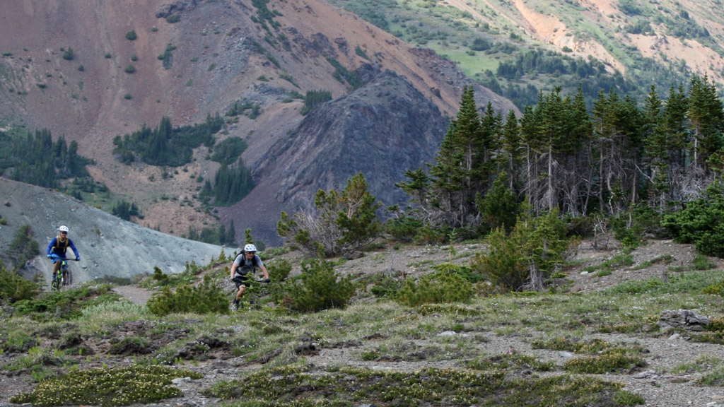 Mountain Biking Chilcotin Mountains