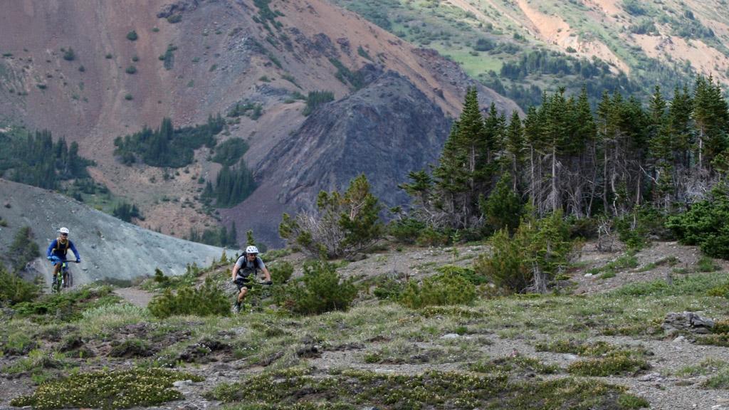 Mountain Biking Chilcotin Mountains