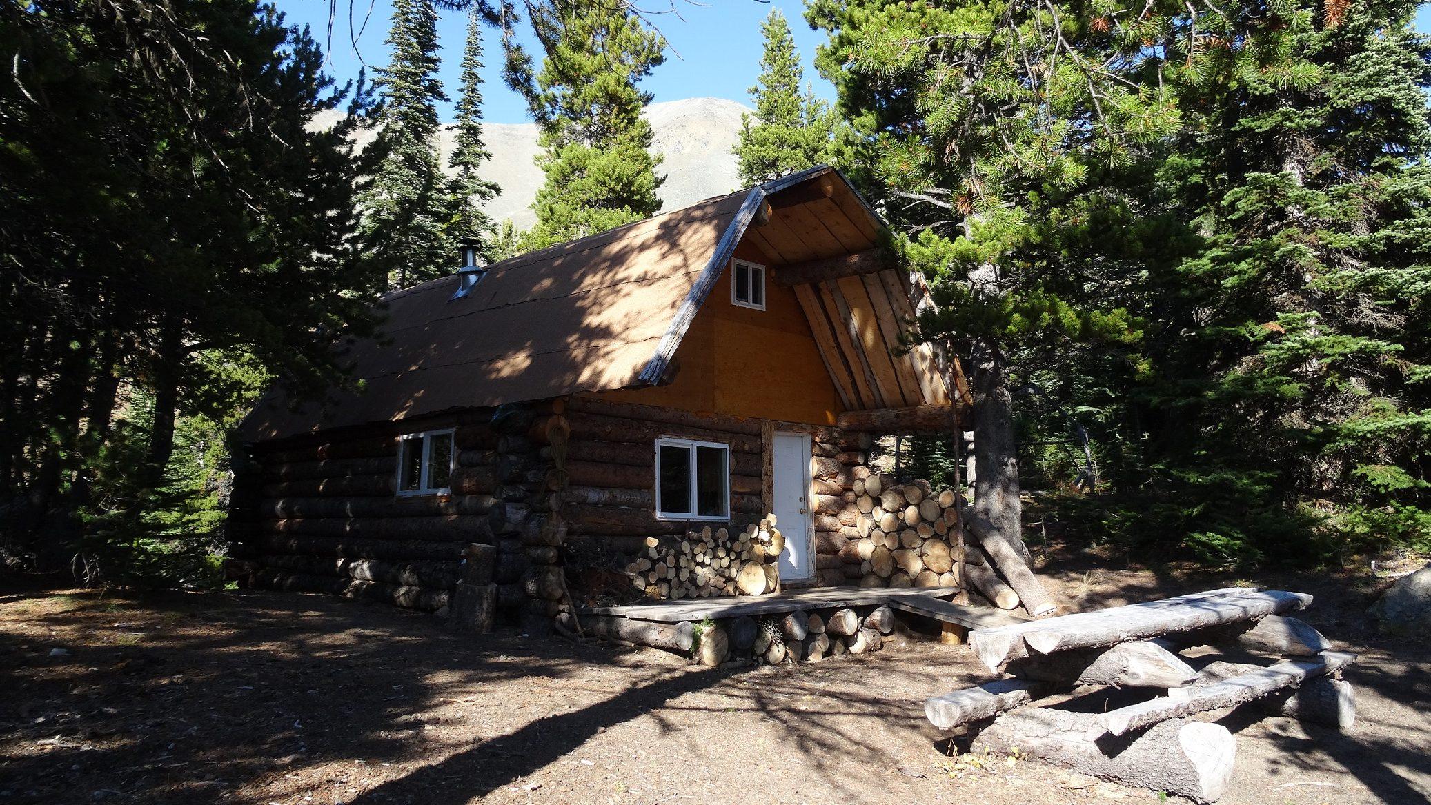 Front of Brett Camp